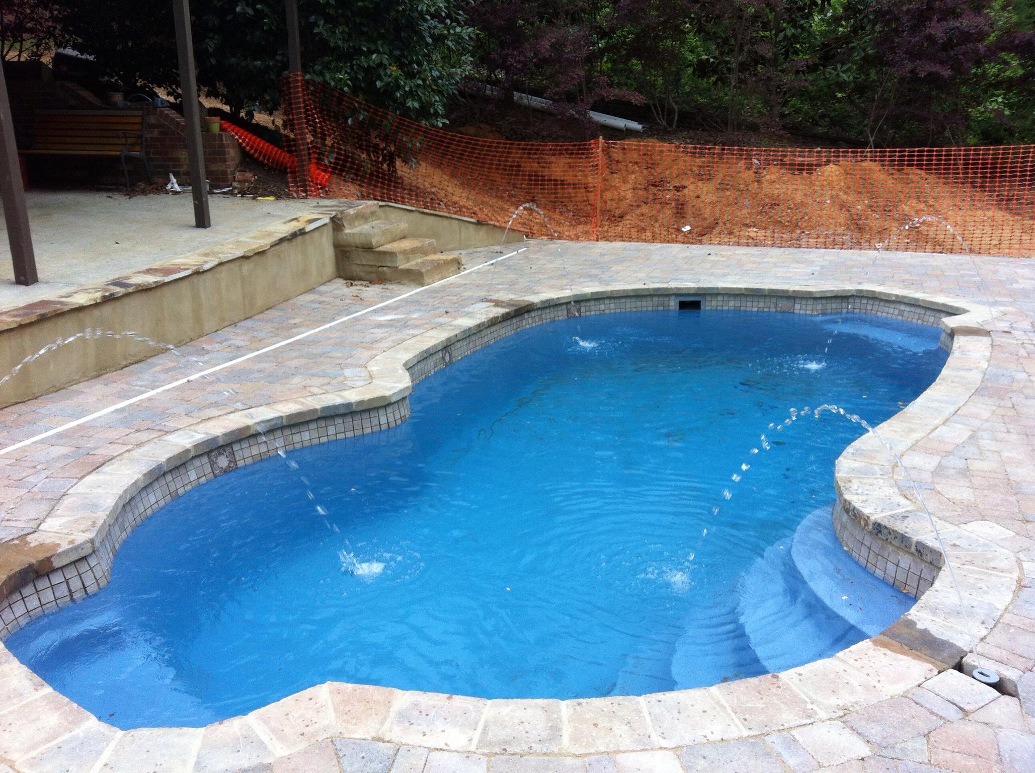 Fiberglass Pool Installation Graystone Al