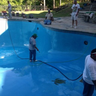 Concrete Pool Renovation South Lake, Al