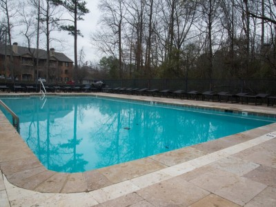 Neighborhood swimming pool renovated Hoover, Al